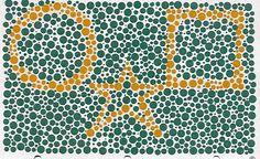 Color blind? | Online color vision test