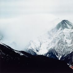 Darren Almond. Fullmoon@Glacier des Bossons. 2001