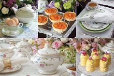 Delicate bone china, pretty spring flowers, and delicious recipes add up to a wonderful way to celebrate mom on Mother's Day.