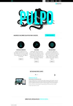 Diseño Web Responsive by Pulpo Agencia creativa de Marketing online Bootstrap 3, Wordpress Roots Framework, HTML5.