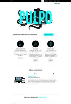 Diseño Web Responsive by Pulpo Agencia creativa de Marketing online Bootstrap 3, Wordpress Roots Framework, HTML5.