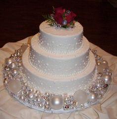 #Christmas #Wedding Cake Ideas ♥