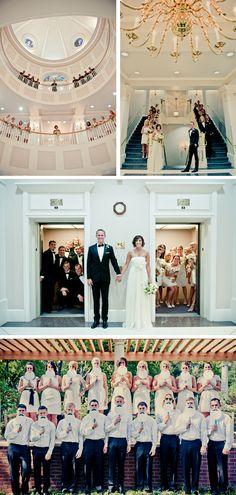 Unique bridal party pics