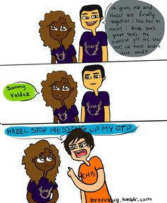 Percy's one of those fangirls sorry i havent uploaded a comic in forever cause of school i am still doing these