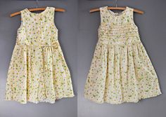 Laura Ashley Floral Girl Dress Daisy Floral Cotton by ItaLaVintage