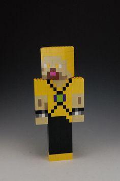 Lego Custom Minecraft Skin by BrickBum Minecraft Creations, Lego Minecraft