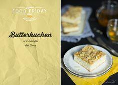 FOOD FRIDAY #2 // Omas Butterkuchen vom Blech