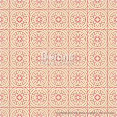 베이지와 핑크색 둥근 격자 무늬 패턴. 한국 전통문양 패턴디자인 시리즈. (BPTD020115) Beige and Pink Colors Round grid Pattern. Korean traditional Pattern Design Series. Copyrightⓒ2000-2014 Boians.com designed by Cho Joo Young.