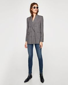 Image 1 of THE HIGH WAIST FOCUS JEANS from Zara
