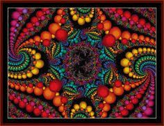 Image result for free fractal cross stitch patterns