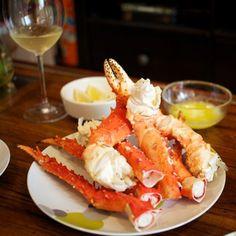 Alaskan King Crab Legs… It's whats for dinner!