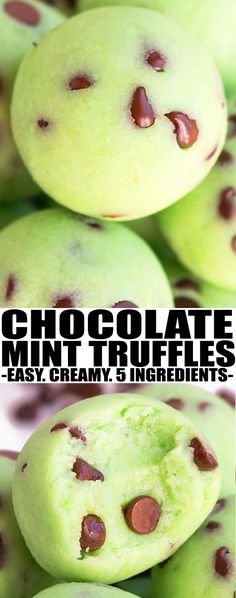 Quick and easy MINT TRUFFLES recipe with 5 ingredients. Rich and creamy and great as a homemade gift. mint truffles cream cheese | mint truffles chocolate | mint truffles andes| From cakewhiz.com #truffles #mint #christmas #chocolate #stpatricksday #dessert #dessertrecipes