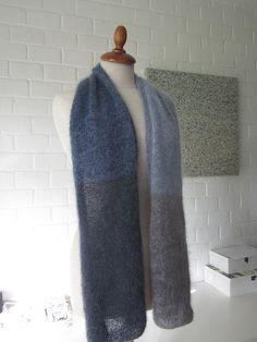 Ravelry: maanel's Color play mohair scarf