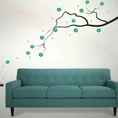 sofa, not the cheap decal