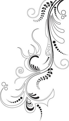 5. Vector Floral Ornament