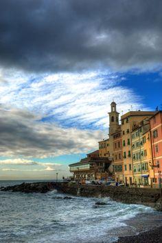 Boccadasse, Genoa, Italy