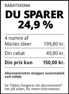 Maries Ideer - AllerService.dk