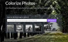 Colorear fotos antiguas directamente desde tu navegador web y de forma gratuita es posible. Sólo tienes que usar la herramienta Colorize Photos.