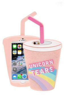 """""""Unicorn tears phone case"""" by aliciafashion5 ❤ liked on Polyvore featuring art"""