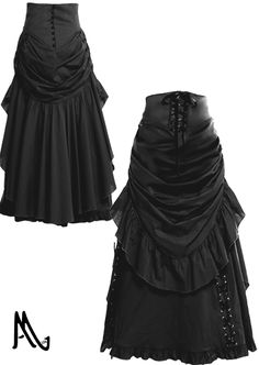 Victorian Bustle Skirt By Amber Middaugh Standard Size $75.95 Plus Size $89.95