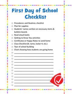I Love 2 Teach: Back to School Success Kit