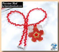 colier passion red Crochet Earrings, Passion, Handmade, Jewelry, Jewellery Making, Hand Made, Jewels, Jewlery, Jewerly