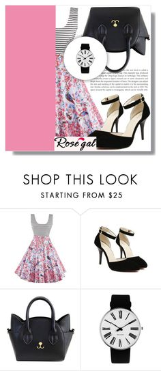 """""""ROSEGAL 45"""" by mini-kitty ❤ liked on Polyvore featuring Rosendahl, vintage, Spring, women and rosegal"""