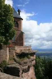 Mt Saint Odile, Alsace (No Clue where this is, but it's beautiful!)