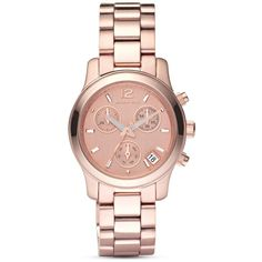 Michael Kors Rose Gold Watch (Don't usually wear watches, but I really like this one)