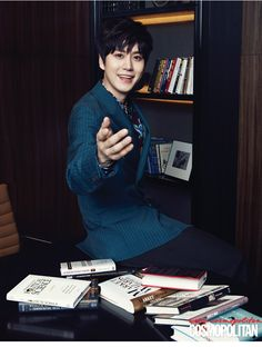 Kyuhyun - Cosmopolitan Magazine May Issue Super Junior Siwon, Leeteuk, Heechul, Super Junior Kpop, Cho Kyuhyun, Handsome Prince, Last Man Standing, Tvxq, Lee Min Ho