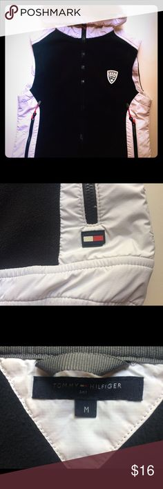 Vintage 90s Tommy Hilfiger Vest Size medium, runs small. Great quality, and pristine condition. Tommy Hilfiger Jackets & Coats Vests