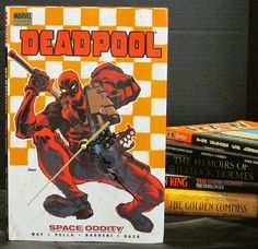 Don't you want it?  Of course you want it!  Deadpool book clock by MyBooklandia on Etsy - $25 https://www.etsy.com/listing/265106320/clock-deadpool-clock-book-clock-deadpool  #deadpool, #mybooklandia, #book clock