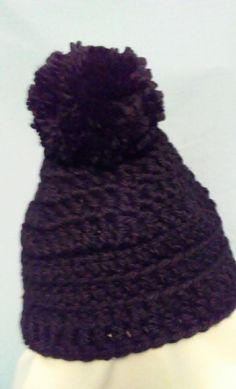 b314e5977a8 Ladies Crochet Winter Hat Black  fashion  clothing  shoes  accessories   womensaccessories  hats (ebay link)