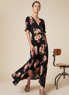 Reformation Breastfeeding Dress | POPSUGAR Fashion