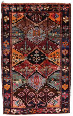 Bakhtiari Persian Carpet  | nmd3470-790 | CarpetU2