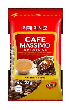 CNF Korea Cafe Massimo Original 3 in 1 Natural Coffee Cream 24 box * (22g x 10) #CNFKorea