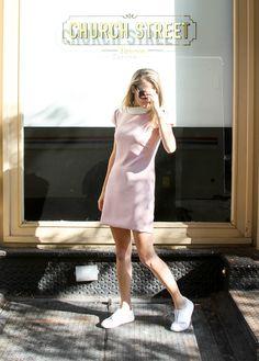The Camilyn Beth 'Kennedy' Dress in Rose   FW16