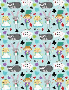 Alice & Friends Art Print