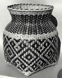 Rivercane Storage Basket - by Rowena Bradley