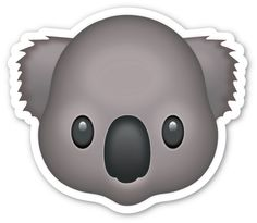 **This sticker is the large 2 inch version that sells for $1/each. If you are looking for the Emoji Sticker Pack, which includes ALL 850+ Emojis on 18 sheets for just $12/total, head over HERE!** - Th