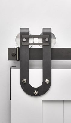 Draft Horseshoe Barn Door Hardware Kit | Rustica Hardware