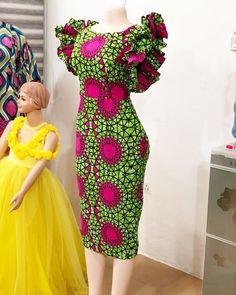 Cute Ankara Print Dresses For Beautiful African Women African Fashion Ankara, African Inspired Fashion, Latest African Fashion Dresses, African Print Fashion, Africa Fashion, African Dresses For Kids, African Prom Dresses, Beautiful African Women, Ankara Gown Styles