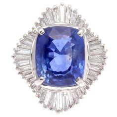 Lot:Platinum Sapphire and Diamond Ring, Lot Number:23, Starting Bid:$1, Auctioneer:Jasper52, Auction:Platinum Sapphire and Diamond Ring, Date:11:00 AM PT - Aug 14th, 2016