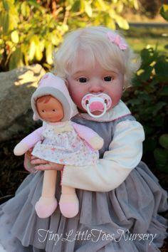 Custom Reborn Doll Toddler by Conny Burke | eBay