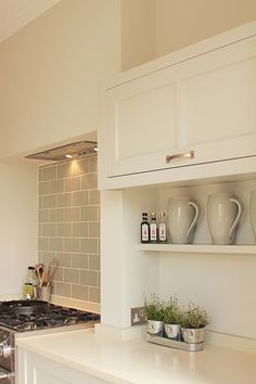 white subway tile grey grout herringbone - Google Search | THE ... on