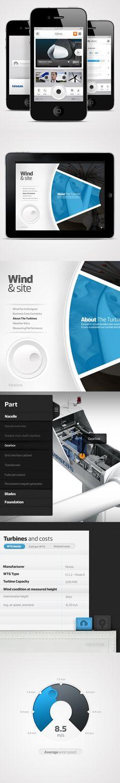 UX/UI Design / Vestas Mobile CVI