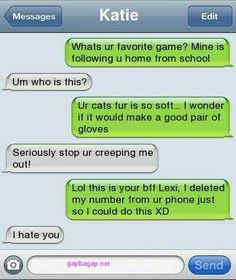 Funny Text About Games vs. Schools