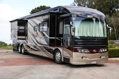 Some day, we would love to own a Motorcoach RV :)