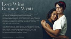 Love Wins- A Powerful Archive of LGBTQ Love Stories - Portraits and Stories to make LGBT (Lesbian, Gay, Transgender, Bisexual) loving relationships visible, normal, and accepted. - http://kck.st/1QErDvx