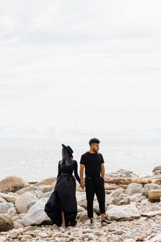 This minimalist black-and-white engagement photo shoot happened in North Vancouver. I took very strong, conceptual photos of Filza and Sameed. Pre Wedding Photoshoot, Wedding Pics, Wedding Shoot, Engagement Photo Inspiration, Wedding Inspiration, Couple Shots, How To Pose, Westminster, Engagement Shoots